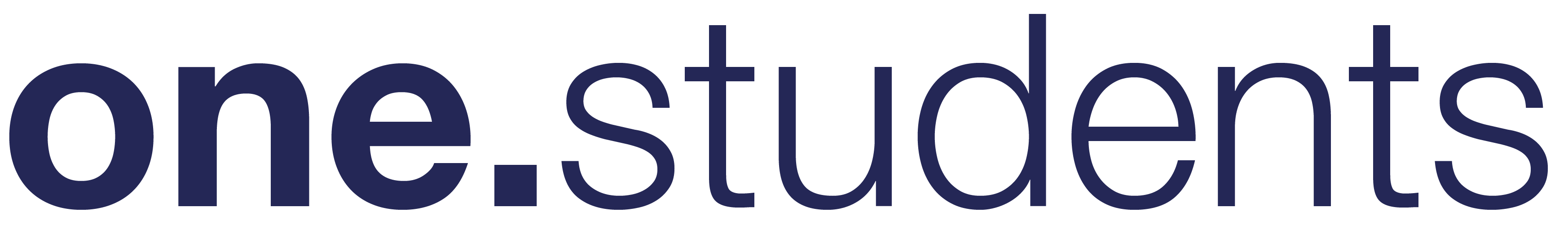 one students logo blue
